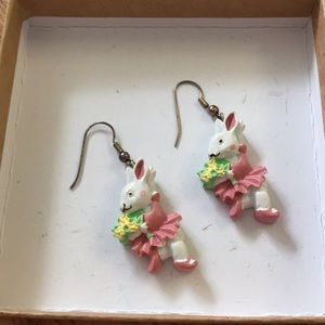 😀Bunny earrings